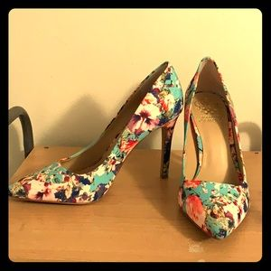 Vince Camino Floral Heels